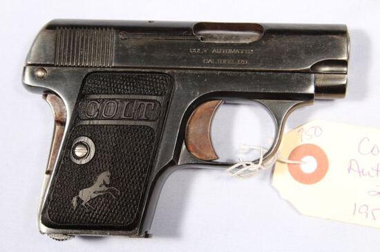 COLT AUTOMATIC POCKET, SN 195921,