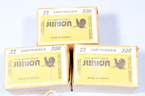 1500 ROUNDS 22 LR JONION R07