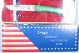 CASE KENTUCKY BICENNTIAL 1774-1974 KNIFE