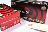 APPROX 100 ROUNDS FEDERAL AMERICAN EAGLE 38 SPL