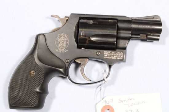 SMITH WESSON 37-2 AIRWEIGHT, SN BPD0678,