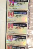 APPROX 150 ROUNDS HORNADY 380 AUTO 90 GRAIN