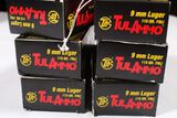 300 ROUNDS 9MM LUGER TULAMMO
