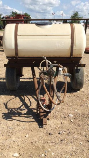 Sprayer with booms - 36'