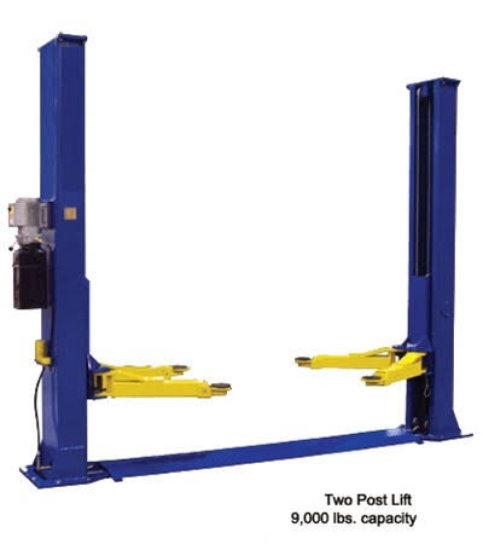 9000 LB Heavy Duty Two Post Auto Lift