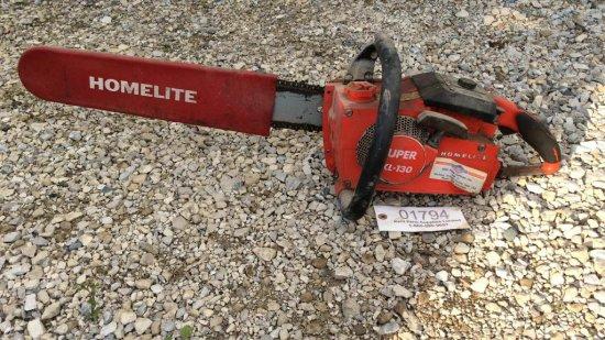 Homelite Super XL-130 chainsaw