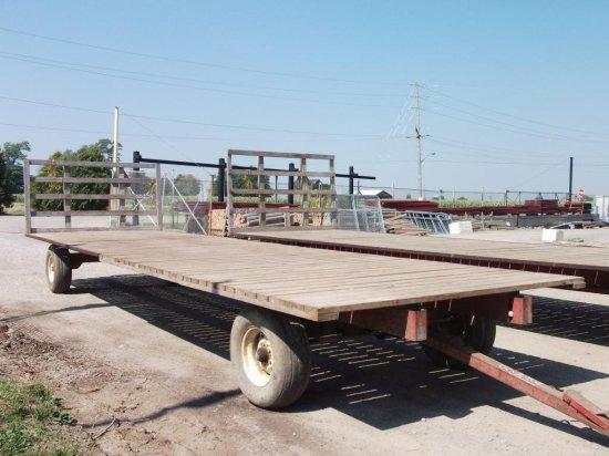 Flat Bed Hay Wagon 30 ft.