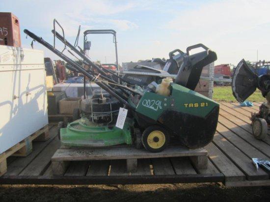 Snowblower Lawn mower & Weed Wacker pallet