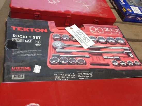 """Tekton Socket Set 3/4"""""""