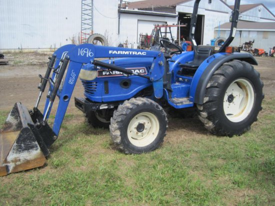 FARM TRAC FT360DTC WITH 5145 BUCKET | Auctions Online | Proxibid