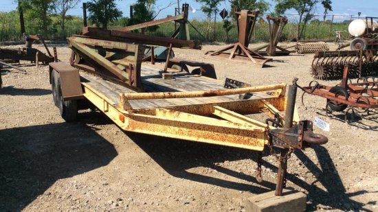 16' Tandem axle Utility trailer