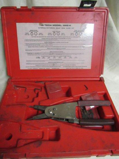 HI-TECH model 1265-k internal/external snap ring pliers