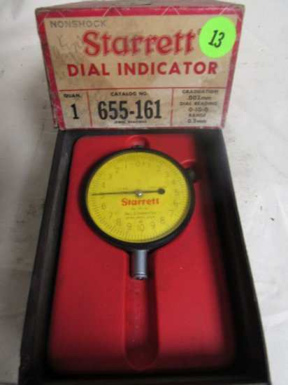 CN3370Q Starrett dial indicator, .002mm-0.5mm