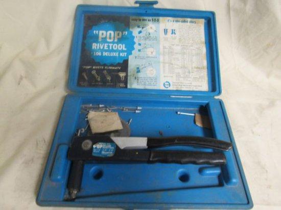 "POP model K111 Rivetool, 1/8"", 5/32"", 3/16"" rivets"