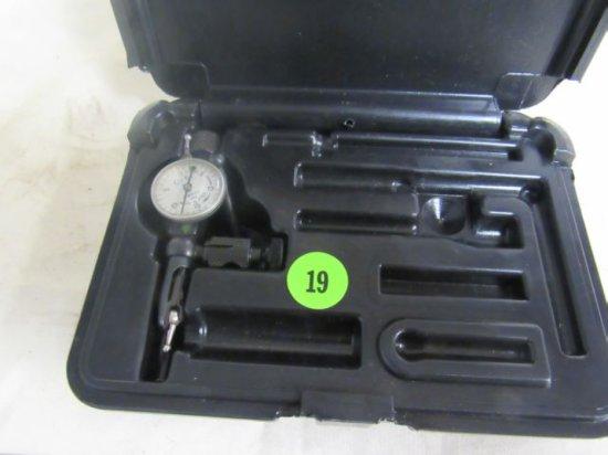 GEM inside micrometer in case