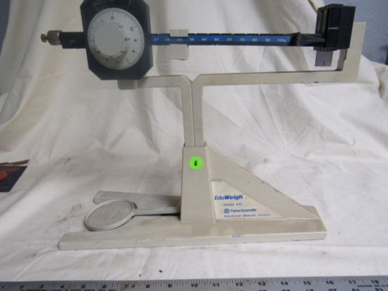 EduWeigh model 410 gram beam scalescale