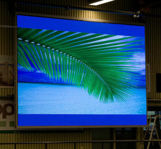 1.67 LED video wall display 20 cabinet system