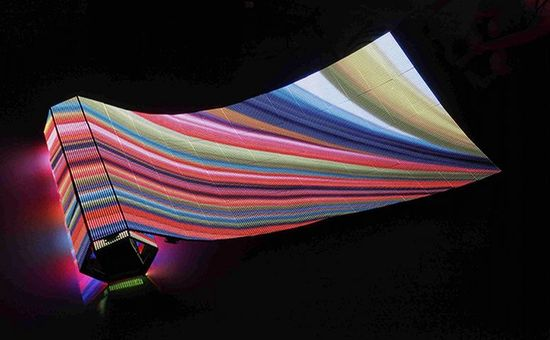P80 LED 10'x20' Curtain for trade show booths, bars, night clubs