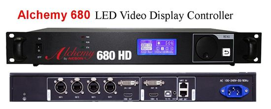 680 HD processor controller  for LED video wall displays