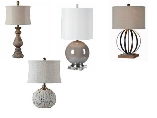 40 West table lamps new in boxes