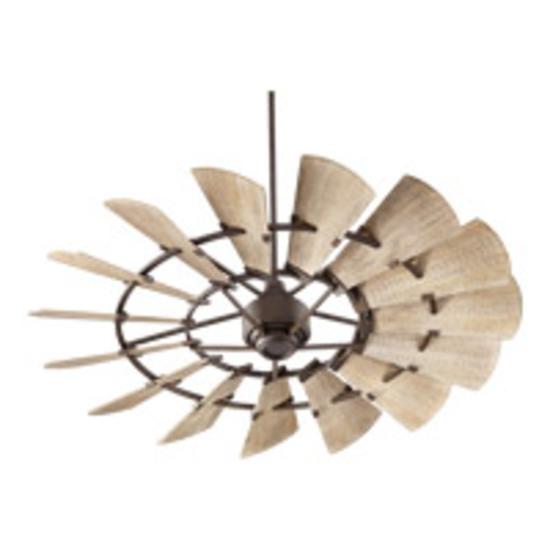 "Quorum 72"" windmill ceiling fan new in original box"