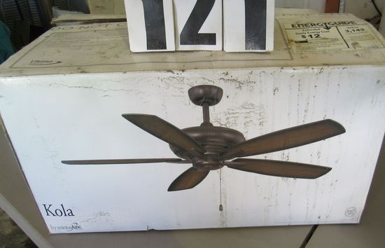 """New ceiling fans 42"""" and 52"""" in original boxes"""
