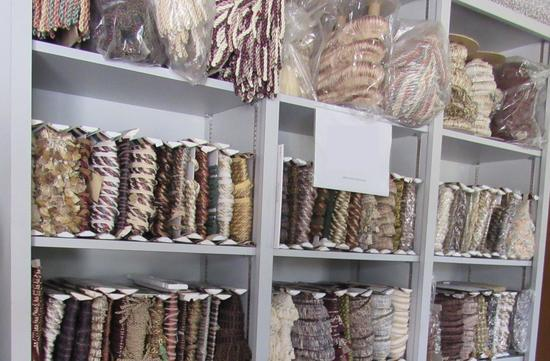fabric fringe for drapes, quilts, upholstery
