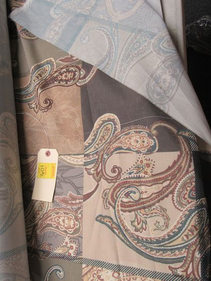 """bolt of 57"""" wide paisley material  by the yard bolt of 57"""" wide paisley material by the yard"""