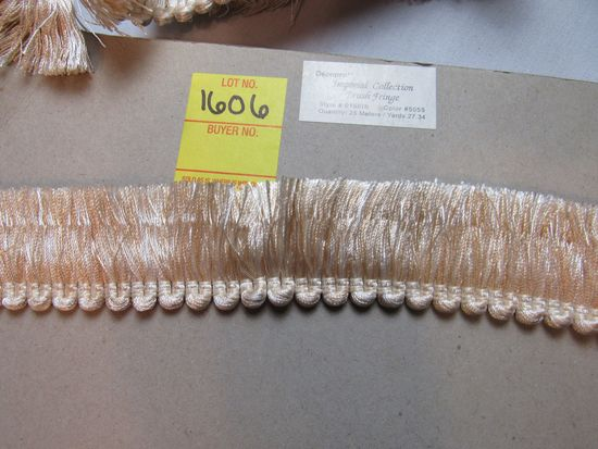 """Imperial collection 1 3/4"""" brush fringe by the yard"""
