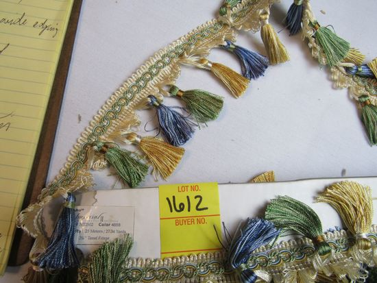 """Imperial 3"""" tassel fringe by the yard NT2502 color 4688"""