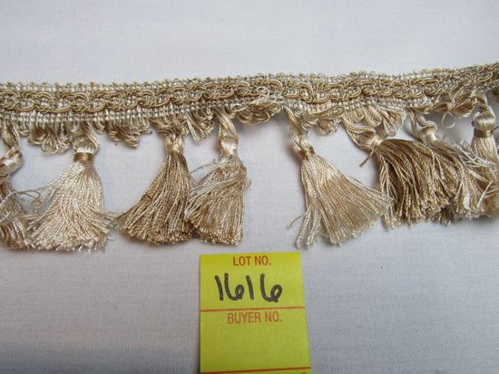 """Imperial 3"""" tassel fringe by the yard NT2502 color 4001"""