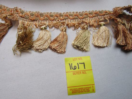 """Imperial 3"""" tassel fringe by the yard NT2502 color 3853"""