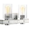 Progress Lighting 2 light wall fixture P300124-141