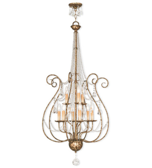 Livex Lighting Isabella Light Foyer Chandelier