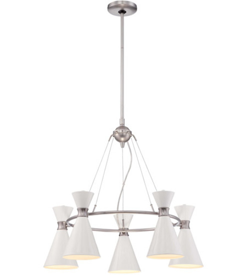 George Kovacs Conic 5 Light Chandelier P1825