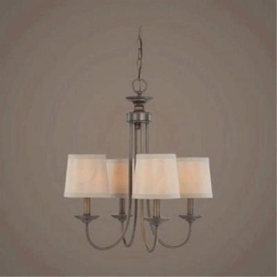Jeremiah Craftmade 26124-BZ 4 Light Chandelier