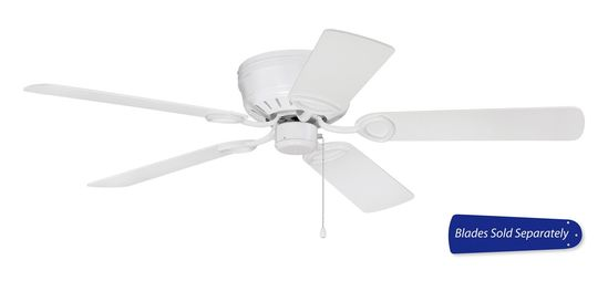 "Craftmade 52"" Wall Hugger Fan PUH52 White"