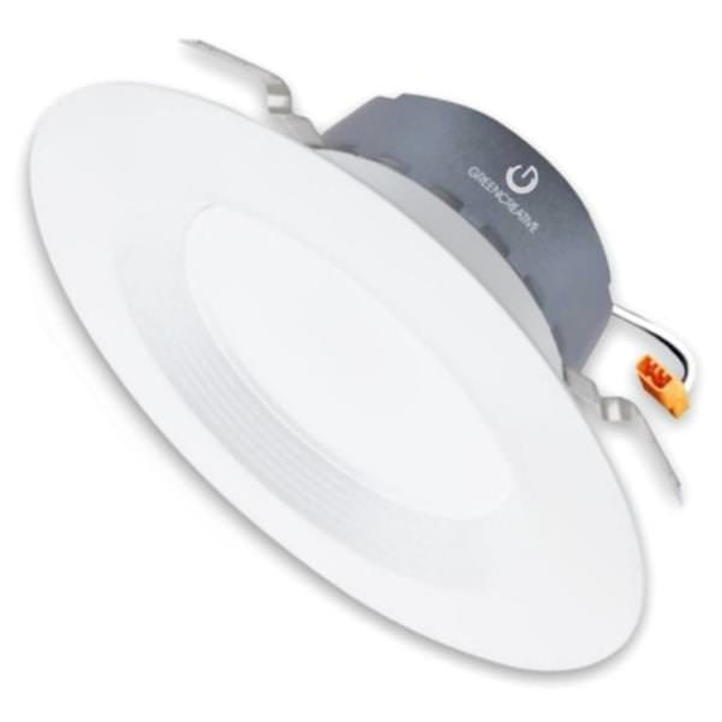 "Case of 18 GreenCreative Lighting, 5"" or 6"" retrofit downlight, replaces 65W #58100 (Model:11DL6DIM)"