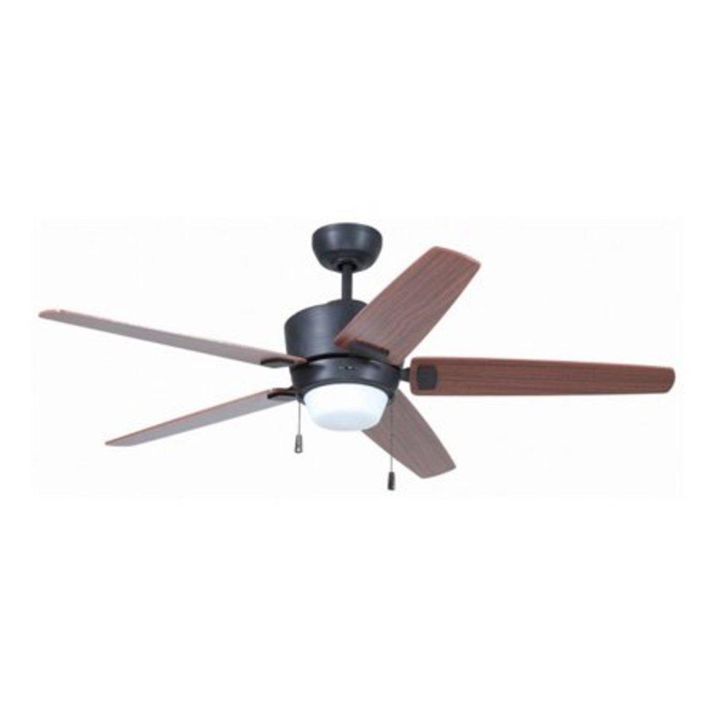 """Craftmade Atara 52"""" Fan, 3-speed reversible, # ATA52ABZ5"""