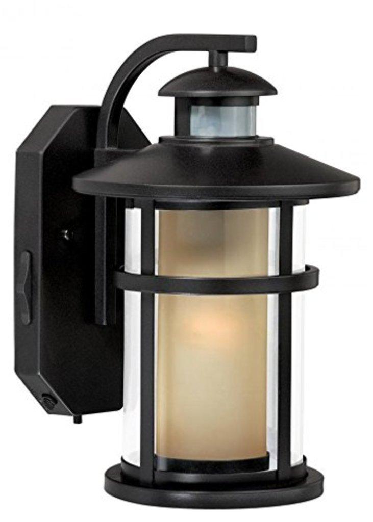 Vaxcel One Light Outdoor Motion Sensor #TO128 Burnish Bronze Finish