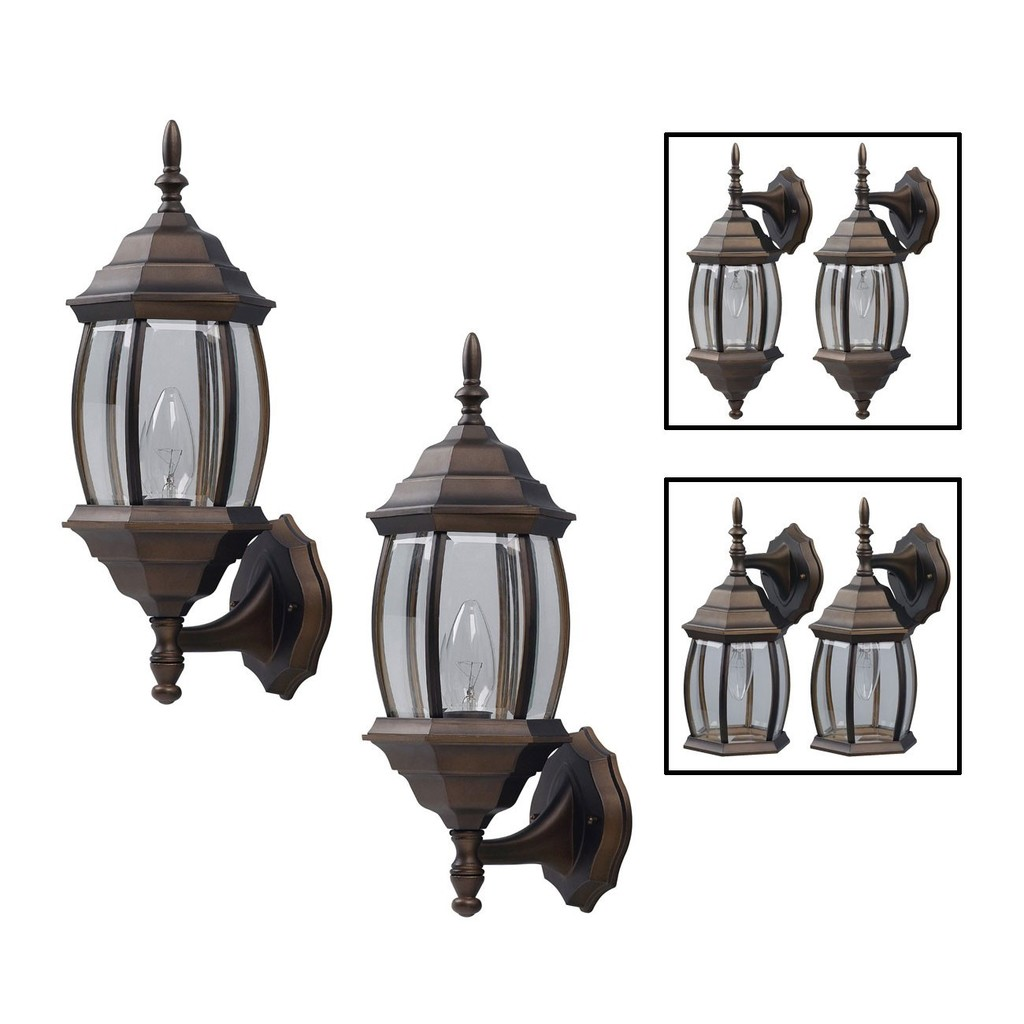 Canarm Outdoor Twin Pack Coach Lights #IOL73TORB