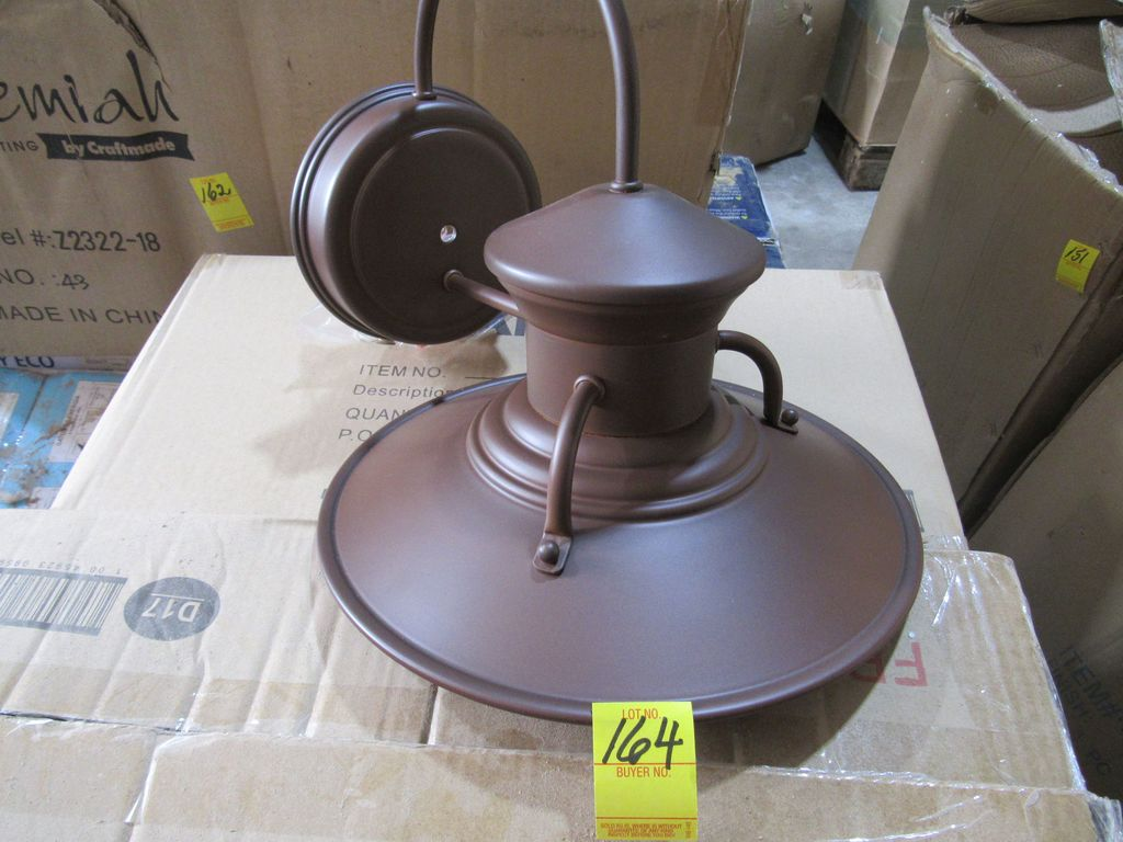 Outdoor Wall Mount Light Color: Rustic Brown