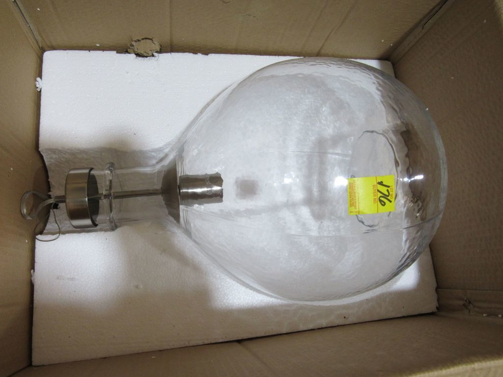 Progress Lighting Glass Globe Pendant Light