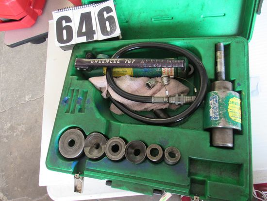 "GREENLEE 7506 1/2"" - 2"" CONDUIT SIZE SLUG-SPLITTER KNOCKOUT PUNCH KIT"