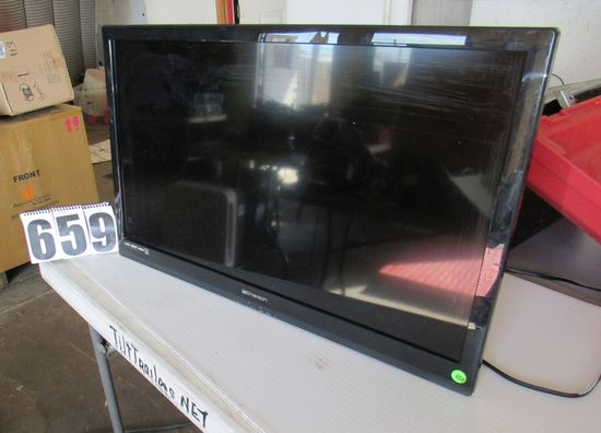 "Emerson 32"" LED HDM television (needs stand or bracket)"