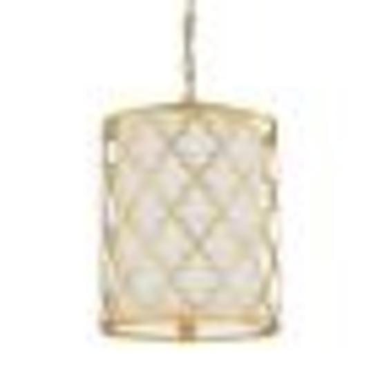Capital Ellis gold 2 light pendant #4544CG-579