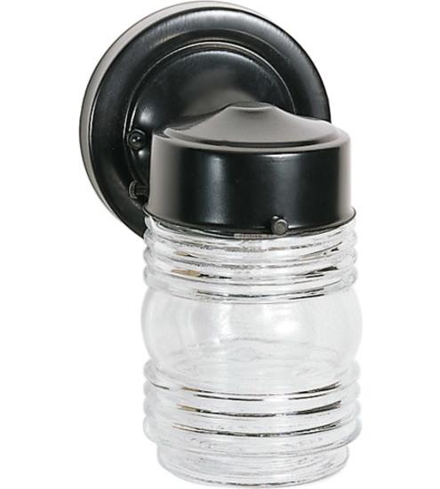 Nuvo Lighting Outdoor Mason Jar Lights #SF77-119B