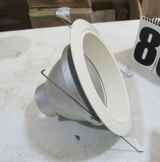 Juno Ultra  air- loc baffle trim for down lighting box of 9