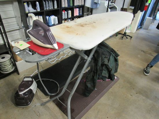 Rowenta Perfect Steam ironing System with Commercial folding ironing board