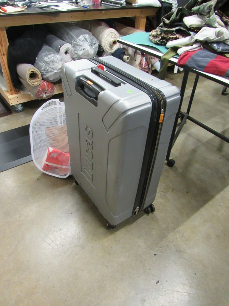hardside luggage 36 inch on casters